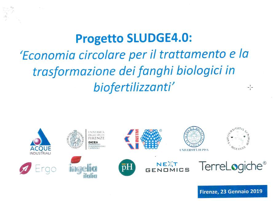 Progetto SLUDGE 4.0: