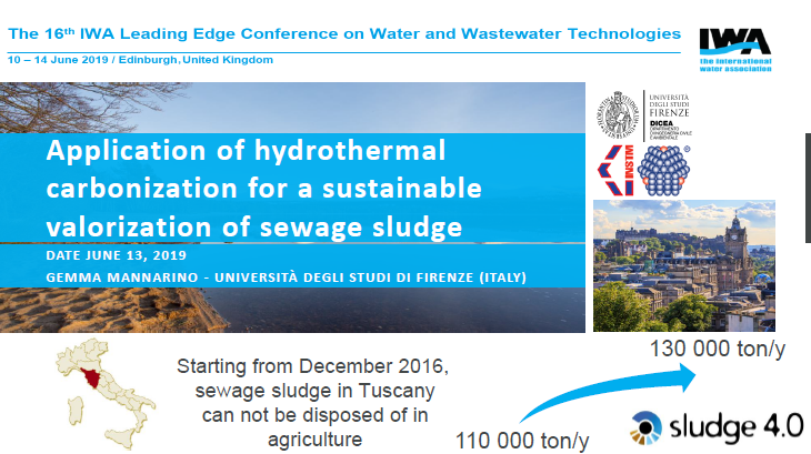 Application of hydrothermal carbonization for a sustainable valorization of sewage sludge